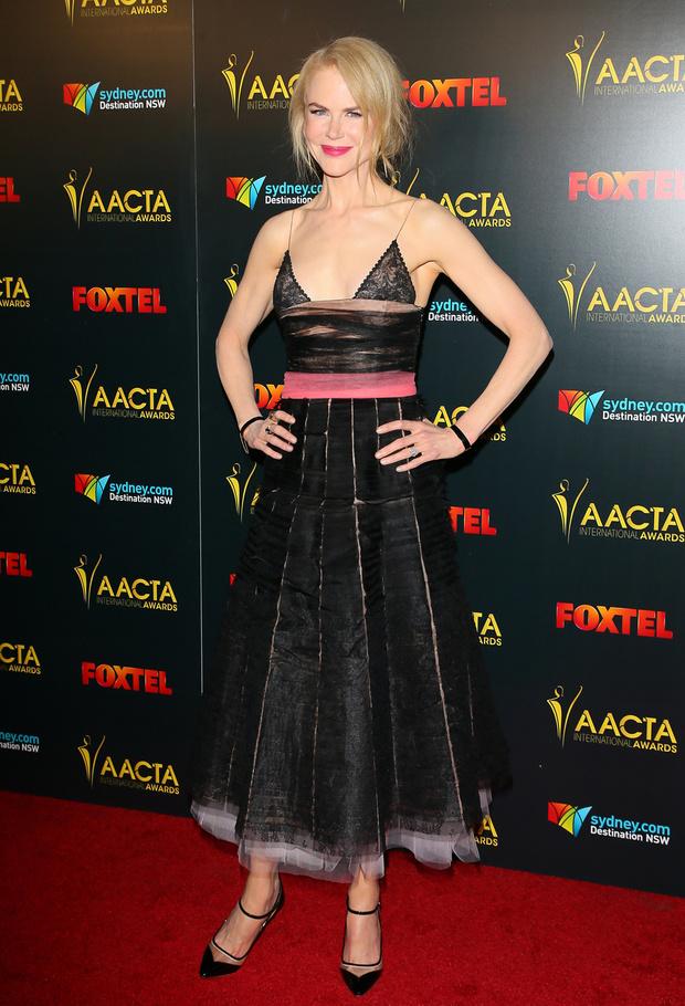 Николь Кидман в платье Rochas, 2017 год