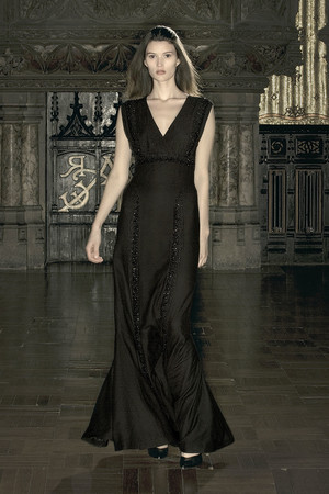 Показ Anne Valerie Hash коллекции сезона Весна-лето 2009 года Haute couture - www.elle.ru - Подиум - фото 86210