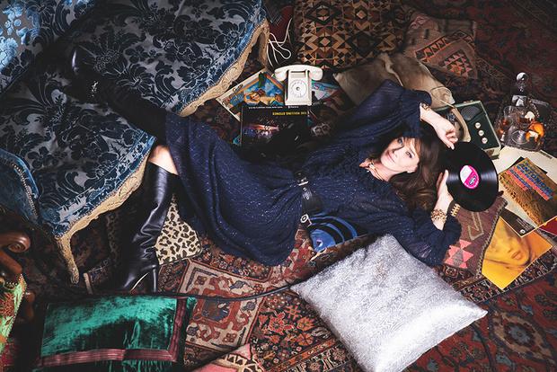 Карла Бруни: «Я утонченная парижанка днем и панк-принцесса ночью!» (фото 3)