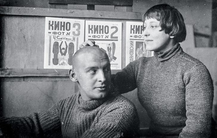 Александр Родченко и Варвара Степанова.