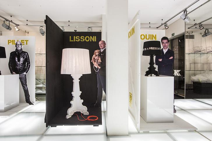 Инсталляция Kartell goes Bourgie на выставке Maison & Objet — проект Музея Kartell