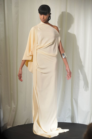Показ Dominique Sirop коллекции сезона Весна-лето 2009 года Haute couture - www.elle.ru - Подиум - фото 86512