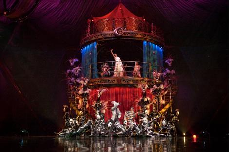 Шоу KOOZA Cirque Du Soleil