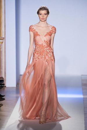Показ Zuhair Murad коллекции сезона Весна-лето 2013 года Haute couture - www.elle.ru - Подиум - фото 480960