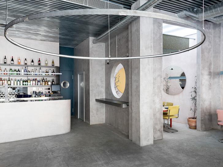 Нежный бетон: ресторан в Испании (фото 4)