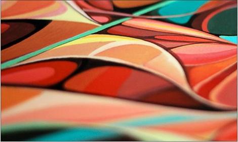 Иллюстрация российского дизайнера на обложке веера Pantone   галерея [1] фото [1]