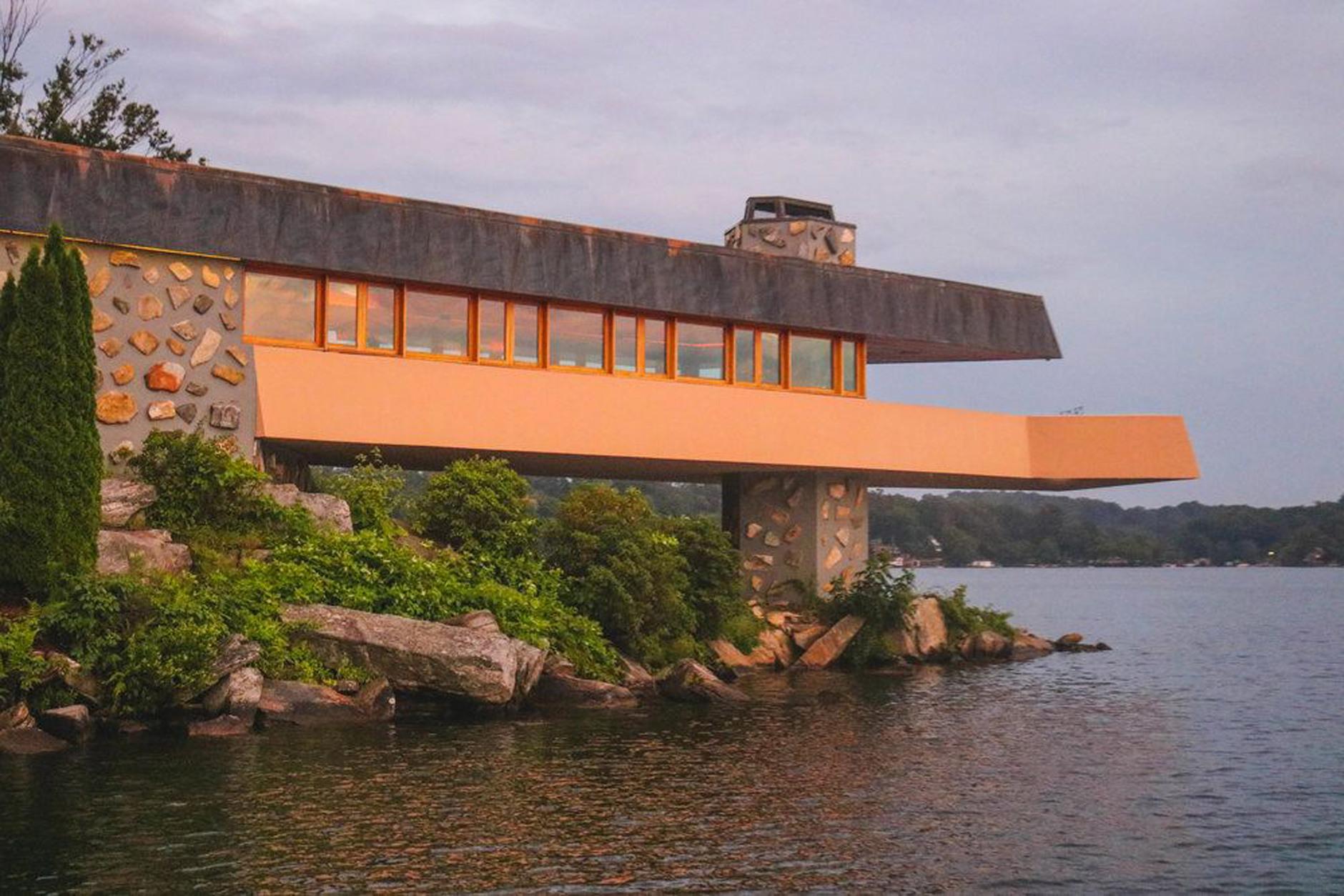 Под Нью-Йорком продается частный остров с домами Фрэнка Ллойда Райта (галерея 7, фото 4)