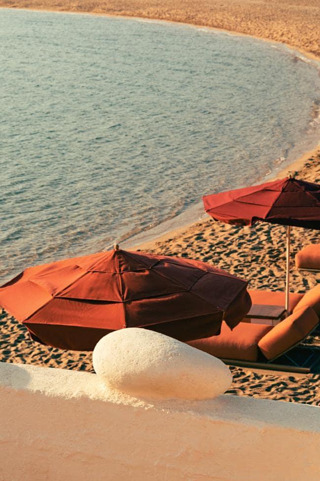 Охра и шафран: ресторан на Миконосе в ретро-гамме (галерея 8, фото 1)