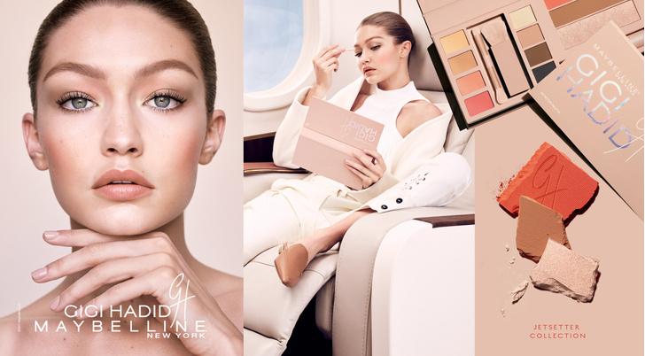 Все, что нужно знать о новой коллекции макияжа Gigi Hadid X Maybelline фото [4]