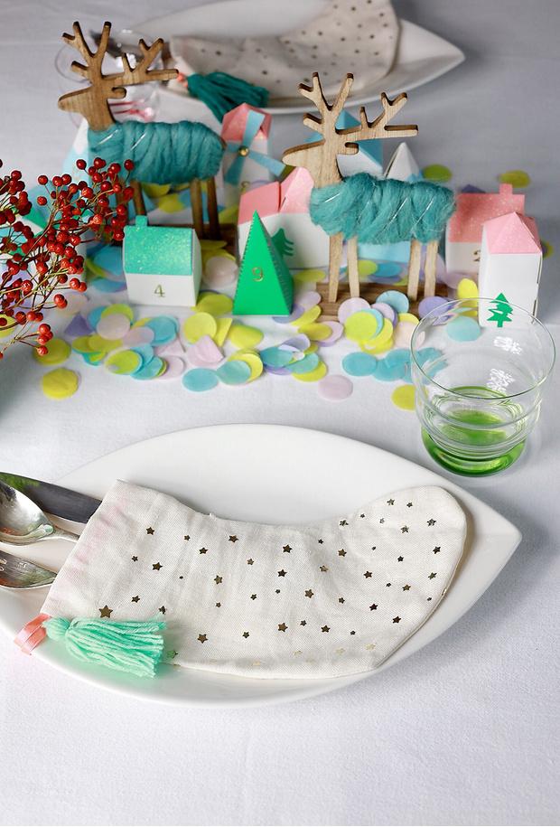 4 варианта новогодней сервировки фото [3]