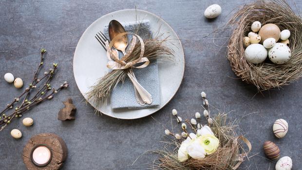 Как украсить праздничный стол к Пасхе ? (фото 8)