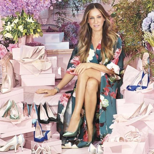 Сара Джессика Паркер создала коллекцию свадебной обуви
