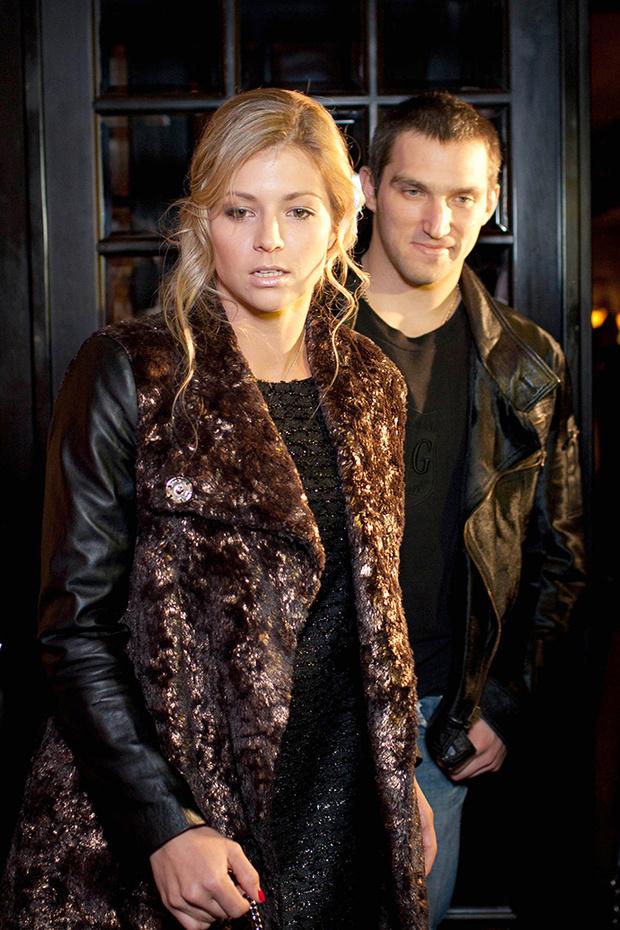 Александр Овечкин и Мария Кириленко фото