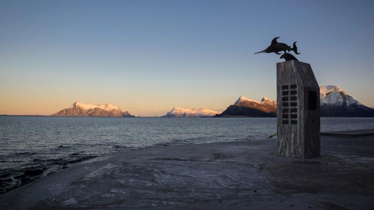 Органичная смотровая площадка в Норвегии (фото 2)