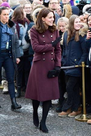Заключительный день принца Уильяма и Кейт Миддлтон в Норвегии (фото 1)
