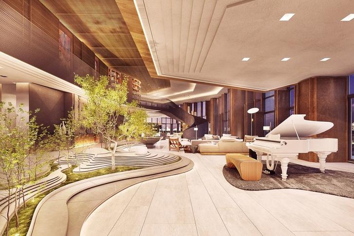 Новая резиденция Ritz-Carlton от Пьеро Лиссони во Флориде (фото 5)