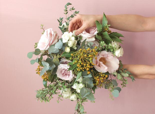 Мастер-класс: осенний букет из диких цветов (фото 29)
