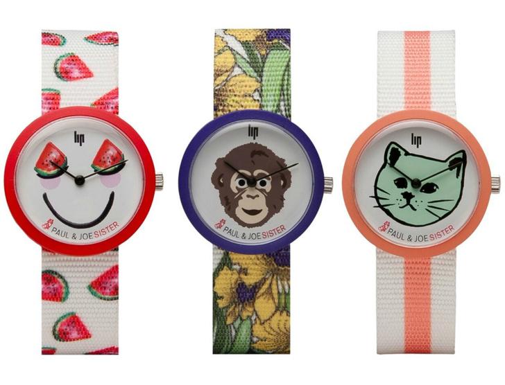 Paul&Joe Sister выпустили совместную коллекцию часов с брендом Lip