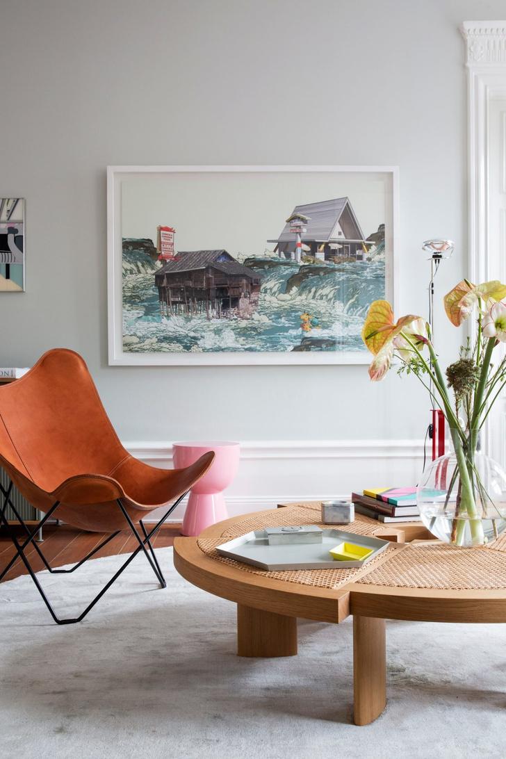 Эклектичный интерьер квартиры в Стокгольме (фото 2)