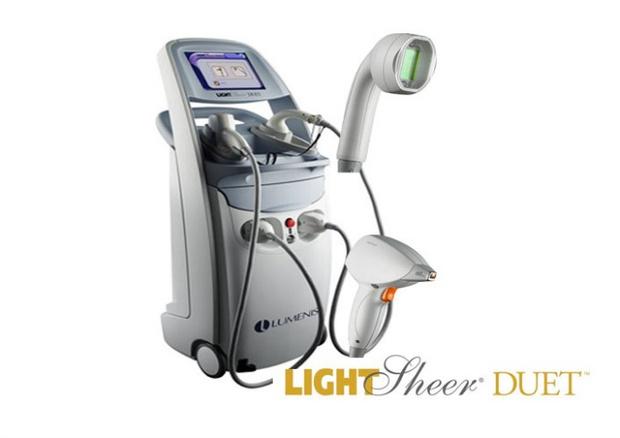 Лазерный аппарат Light Sheer Duet от Lumenis