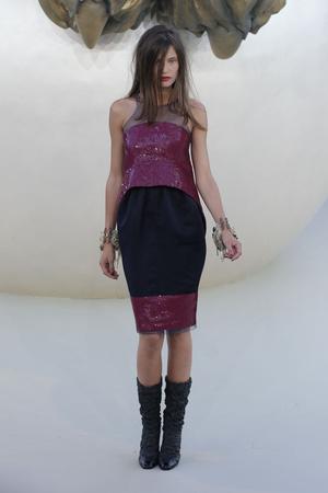 Показ  коллекции сезона Осень-зима 2010-2011 года haute couture - www.elle.ru - Подиум - фото 167896