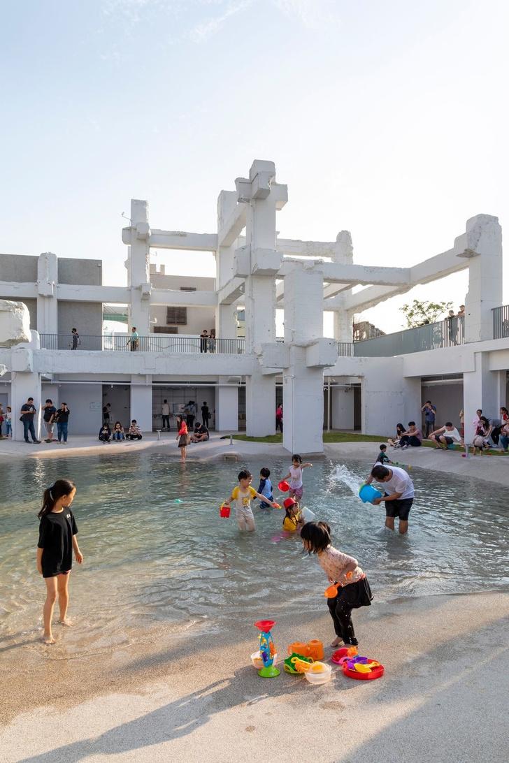 Городской бассейн на месте бывшего долгостроя в Тайнане (фото 5)