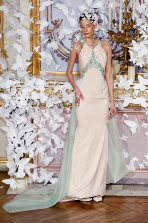 Показ Alexis Mabille коллекции сезона Весна-лето 2014 года haute couture - www.elle.ru - Подиум - фото 574427