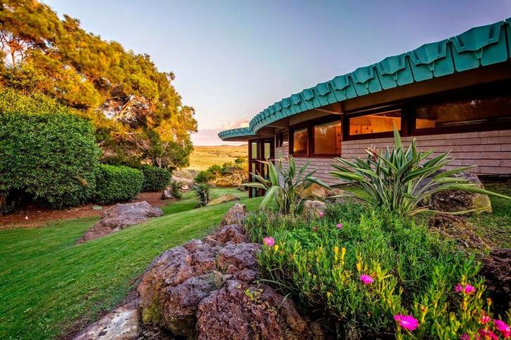 Дом по проекту Фрэнка Ллойда Райта на Гавайях (фото 0)