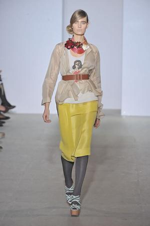 Показы мод Marni Весна-лето 2009 | Подиум на ELLE - Подиум - фото 3339