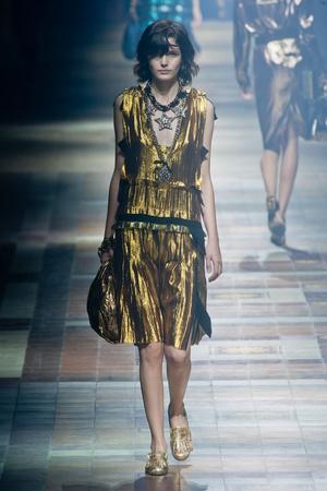 Показы мод Lanvin Весна-лето 2014 | Подиум на ELLE - Подиум - фото 3655