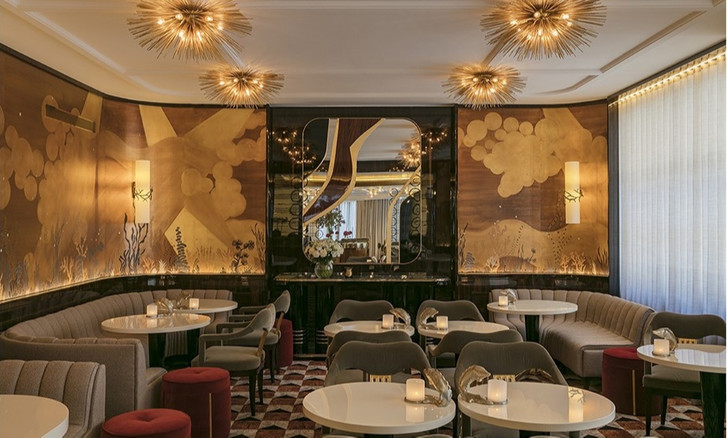 Золотой век: обновленный ресторан La Maison Du Caviar в Париже (фото 0)