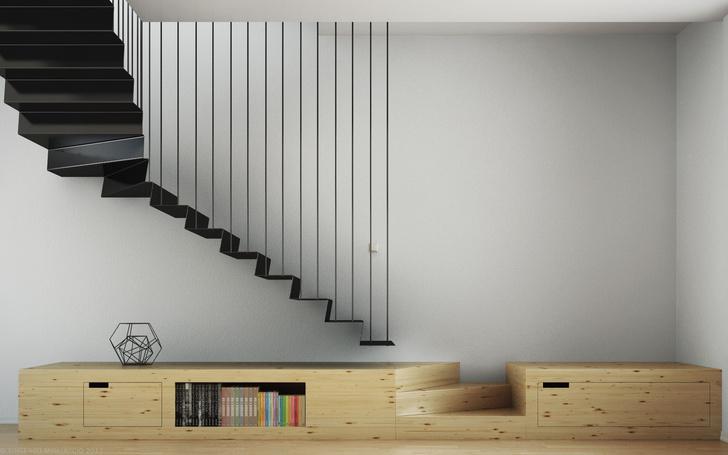 Топ-10: самые необычные дизайнерские лестницы фото [45]