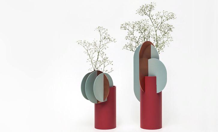 Украинская студия NOOM: супрематические вазы и светильники (фото 2)