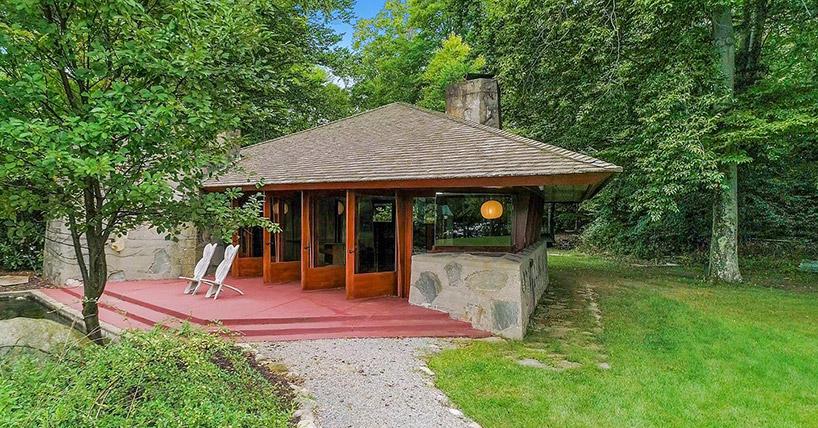 Под Нью-Йорком продается частный остров с домами Фрэнка Ллойда Райта (галерея 7, фото 1)