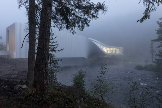 Арт-галерея на мосту по проекту студии BIG (фото 5)
