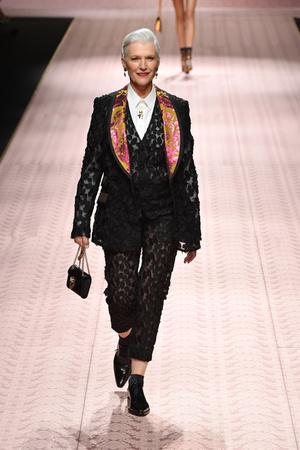 В духе Met Gala: звездопад на показе Dolce&Gabbana (фото 8.2)