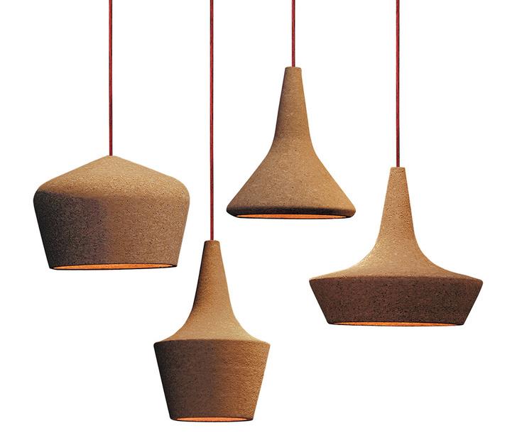 Подвесные светильники Coupoles, дизайн Карло Тревизани для Seletti, www.seletti.it 5 Пол из пробки, Amorim.