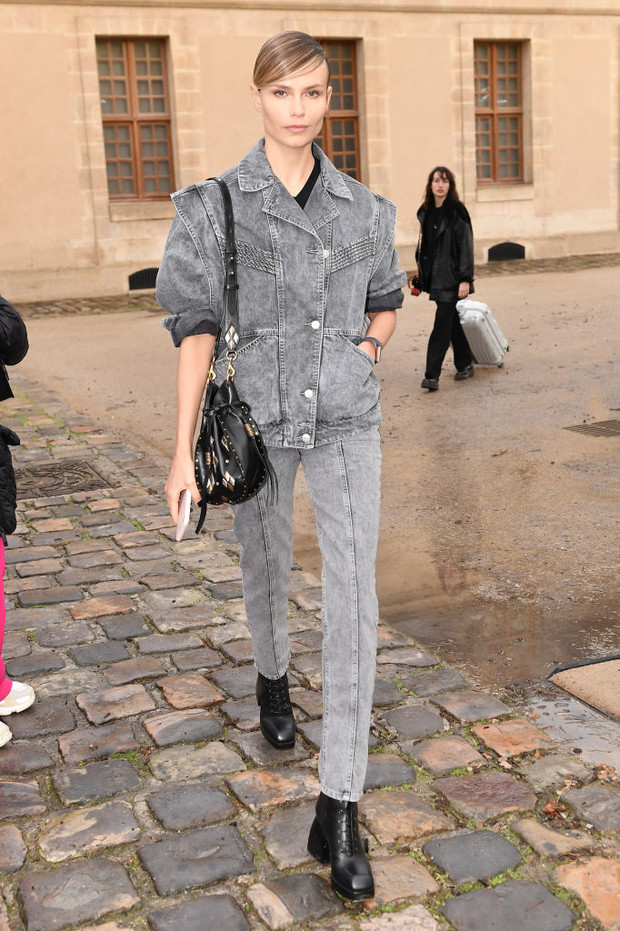 Пуховик или пальто? Что носят (русские) супермодели между показами в Париже (фото 2)