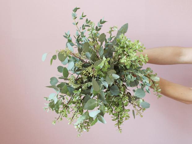 Мастер-класс: осенний букет из диких цветов (фото 15)
