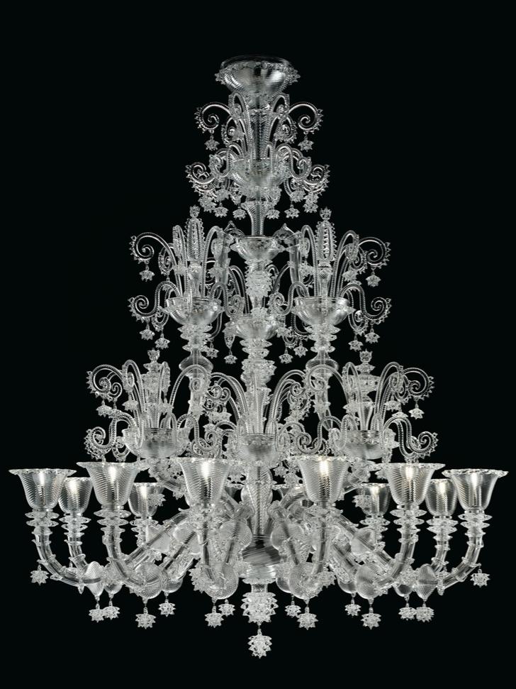 Белый свет: новые светильники Barovier & Toso (фото 0)