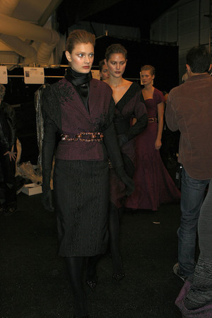 Показ Carolina Herrera коллекции сезона Осень-зима 2009-2010 года prêt-à-porter - www.elle.ru - Подиум - фото 89379