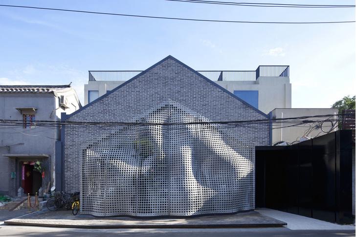 Невесомый бетон: экспериментальный фасад в Пекине (фото 2)