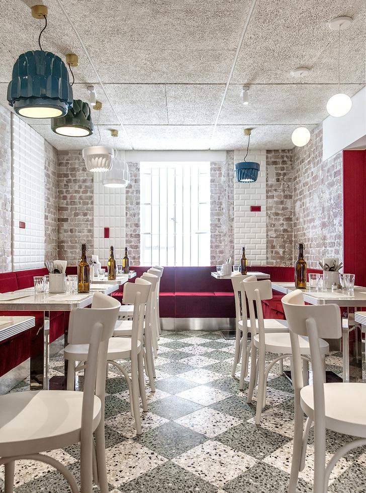 Итальянский ресторан Latteria в Лондоне (фото 9)