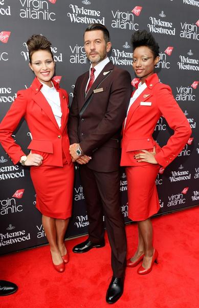 Новая форма бортовой команды Virgin Atlantic
