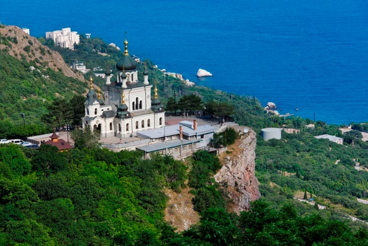 Церковь Воскресения Христова (Форосский храм), Крым