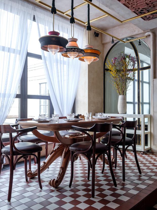 Ресторан Buro в ЦУМе: проект NB Studio (фото 13)
