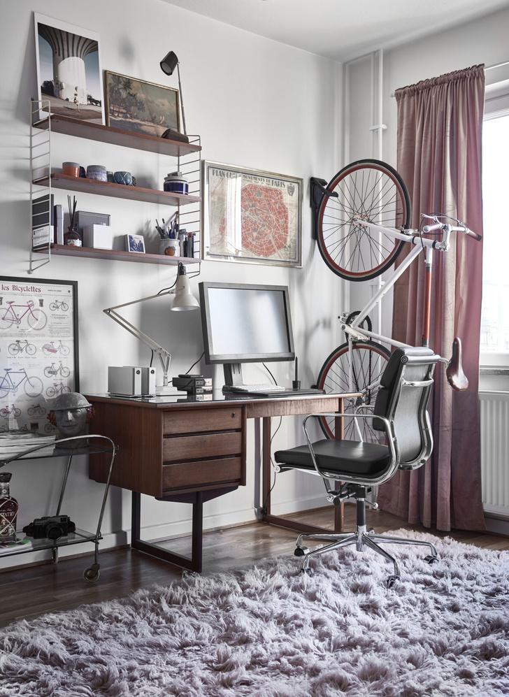 Квартира с винтажной мебелью в Стокгольме (фото 14)