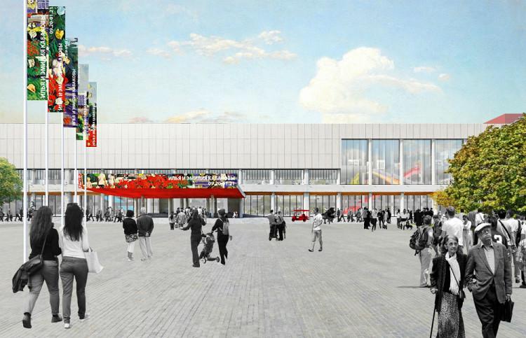 Проект реконструкции Новой Третьяковки в Москве (галерея 4, фото 0)