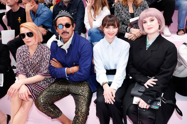 Кейт Мосс с дочерью, Наталья Водянова и другие звездные гости показала Dior Men (фото 6)