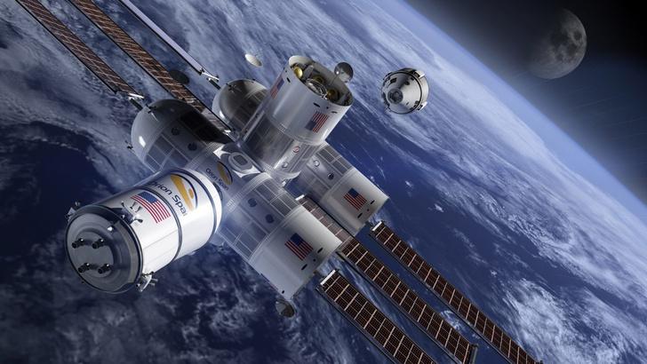 В космосе открывается гостиница? (фото 0)